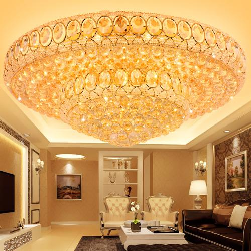 Ceiling chandeliers factory prices luxury royal high class K9 crystal chandelier duplex hotel lobby stairs villa led chandeliers with bulbs