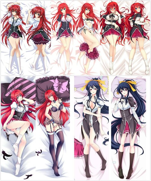 Wholesale- Pillow Case Japan Anime High School DxD Rias Gremory Hugging Body Pillow Cover case decorative pillowcases