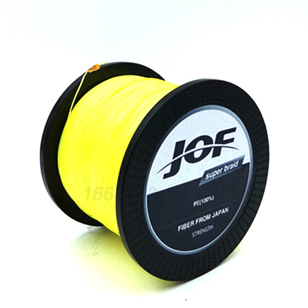 New 8 STRANDS Weaves 1000M Extrem Strong Japan Multifilament PE 8 Braided Fishing Line 15 20 40 50 60 120 150 200LB fucile