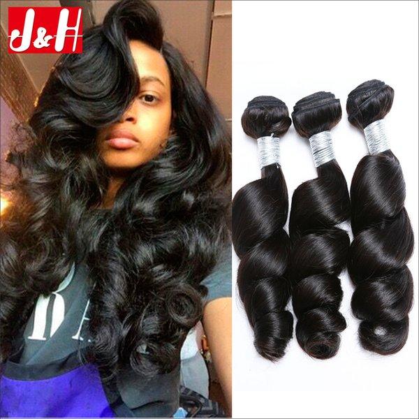3brazilian Loose Deep Wave Human Hair Extensions Aaaaaaa Loose
