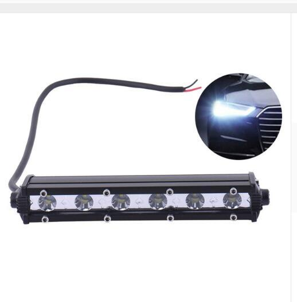 wholesale 18W LED Motorcycle Headlight Aluminum Electric Vehicle Headlight White Light Lamp for Motorcycle 12V 24V