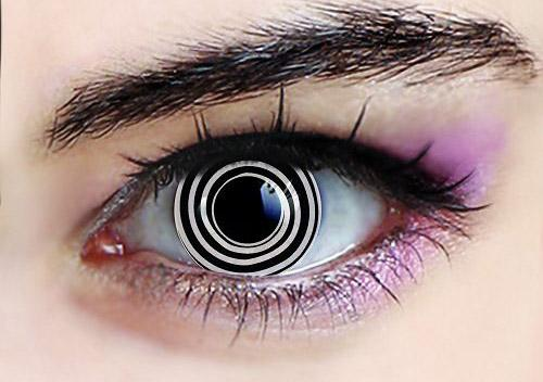 Fancy Tone Halloween Crazy Coloured Contact Lenses Rinnegan Naruto