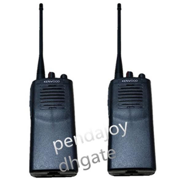 top popular Wholesale Kenwood TK-3107 Walkie Talkie UHF 400-470MHz 16 RF Channel 5Watt Portable Two way Radio Radio Frequency Machine 2021