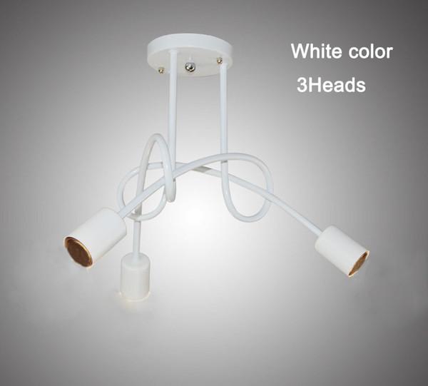 3 têtes couleur blanche
