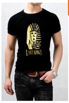 New style tyga last kings t-shirt Men Short Sleeve Printed Hip Hop T Shirt Men swag clothes harajuku rock tshirt Streetwear Tees Shirts