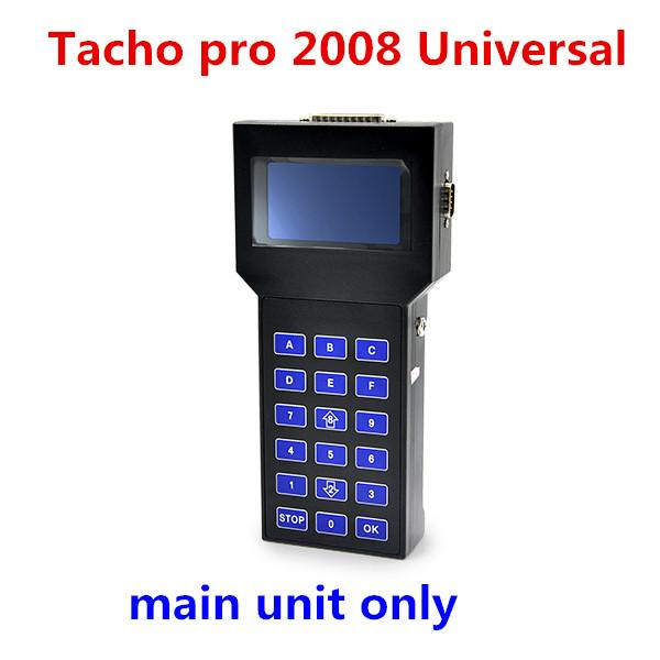 DHL Free Main Unit Only Odometer Programmer Tacho Pro Handheld Without Cables universal tacho pro 2008