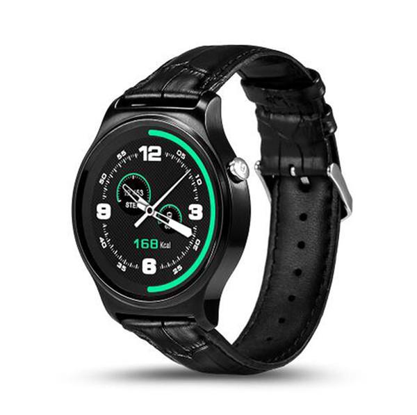Il più recente orologio intelligente Bluetooth GW01 IPS con schermo rotondo Impermeabile monitoraggio della frequenza cardiaca SmartWatch per smartphone Android IOS