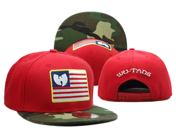 2017 new wu-tang snapback Red Black Blue hats for man and woman fashion design casual style looks cool cheap price online
