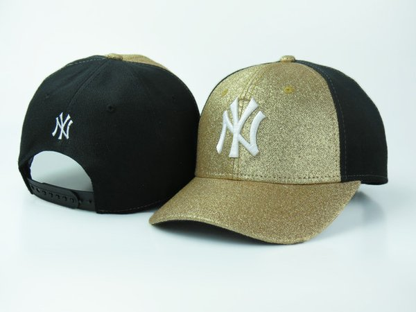 Cheap Yankees Fitted Caps Baseball Cap Embroidered Team NY Letter Size Flat  Brim Hat Yankees Baseball 6d703141310