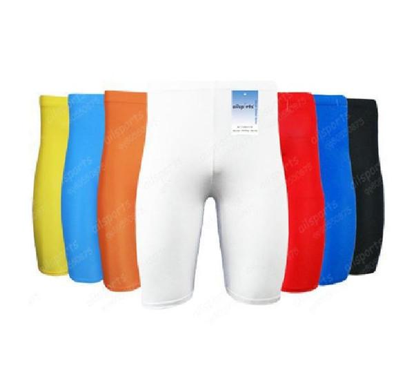 Pro summer men sport Athletic skinny trackle fitness Compression Futebol soccer Tights football Legging sporttwear shorts 6color