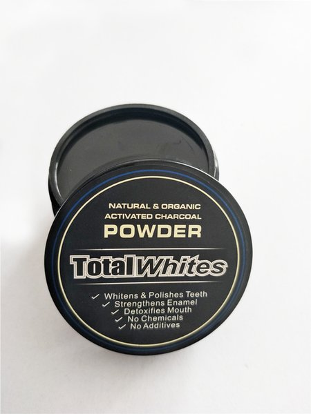 best selling All Natural and Organic Activated Charcoal Teeth Whitening Total Whites Tooth and Gum Powder Total Whites 30g