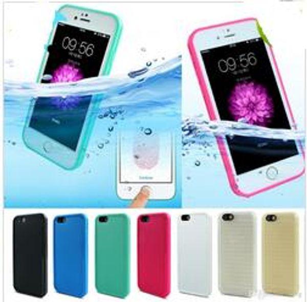 Shockproof Dustproof Underwater Diving Waterproof Cases Cover For iphone 6 7 Plus s7 waterproof case Shell Outdoor Case
