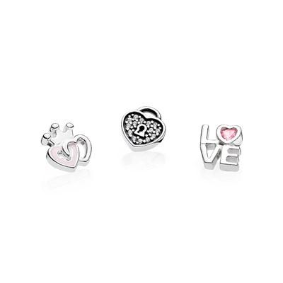 SHARE Forever Hearts Petites Charm