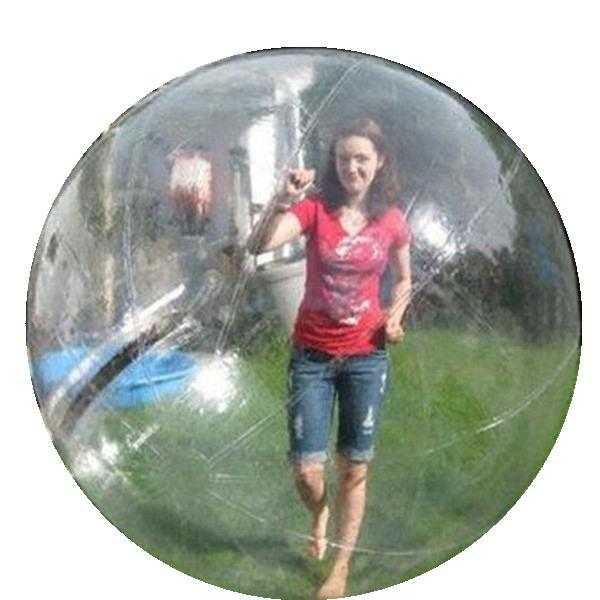 Free Delivery Longer Lifespan PVC 1.0mm 7 Feet Waterball Walking Balls Water Zorb for Inflatable Pool Games Dia 5ft 7ft 8ft 10ft