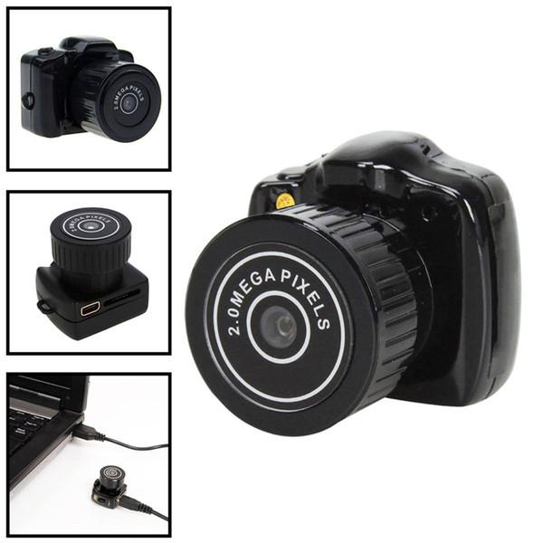 Mini videocamera HD mini 720P Mini Pocket DVR Videocamere portatili Micro registratore digitale USB DV Y2000 Spedizione gratuita