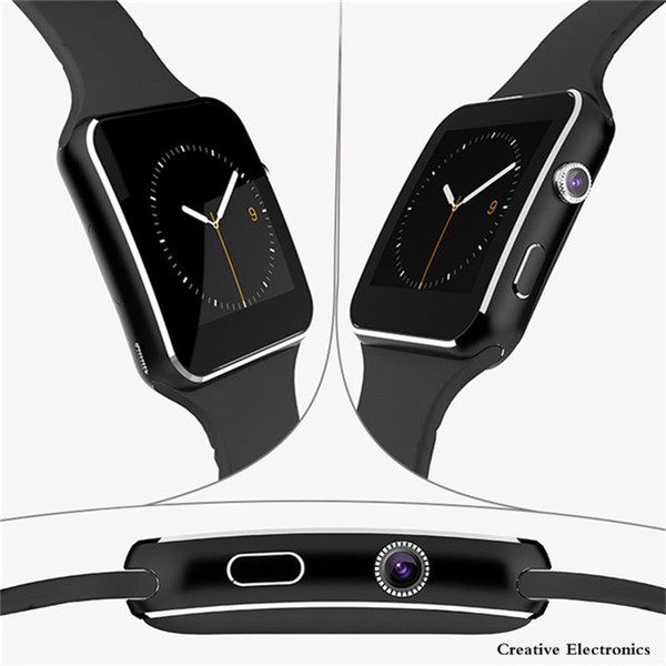 X6 Smartwatch Bluetooth Smart Wrist Watch Wristwatch Sport Watch For iPhone Android Smartphones With Camera Support SIM TF Card Luxury New