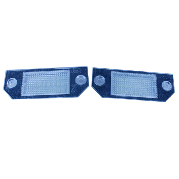 CAR 2PCS 18 SMD LED License Plate Lamp for Ford Focus C-MAX Ford Focus MK2