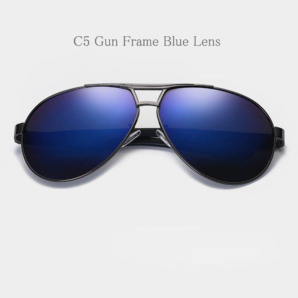 C5 Gun Frame Blue Lens