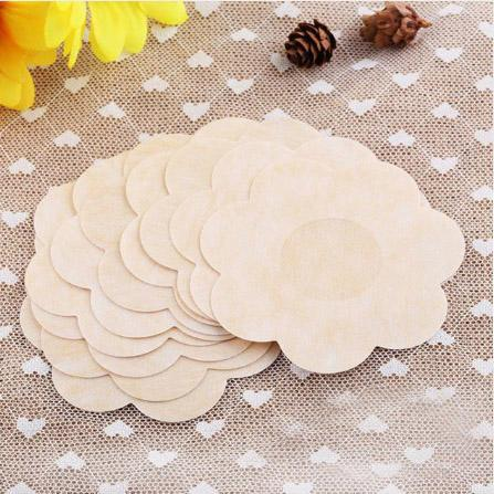 top popular 2000pcs lot Breast Petals Sexy Disposable Soft Silicone Nipple Cover Bra Pad Pasties For Women Intimates Accessories 2019