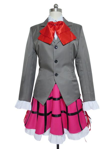 Seitokai no Ichizon Cosplay School Girl Uniform Ken Sugisaki Costume