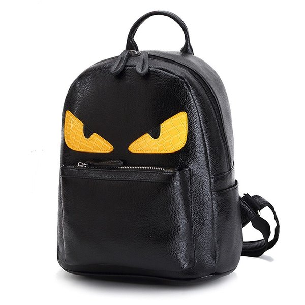 dc3d8e9bc6b2 ... Wholesale free shipping Backpack Everyday Pack School Nylon and PU  Leather Monster Angry . LOUIS ...
