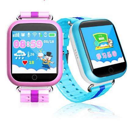 Q100 Smart Baby children Kids Smart watch phone GPS Tracker Smart Touch Screen Watch kids GPS Wifi Location child SOS Anti-Lost Device