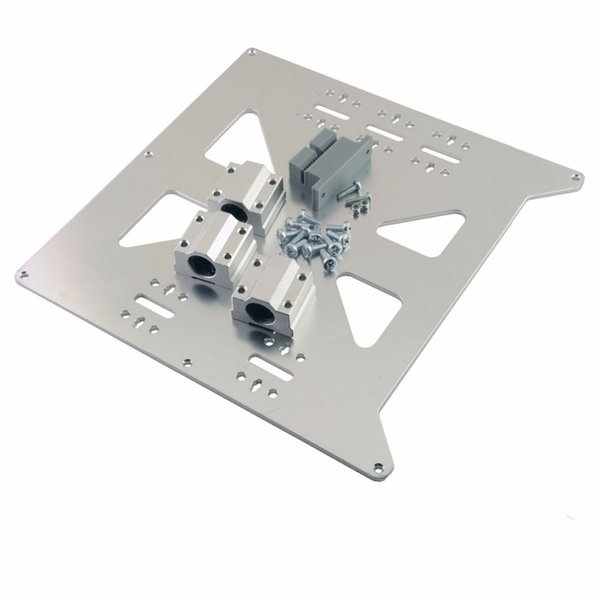RepRap Prusa I3 3D Printer Aluminum Y Carriage V2 Plate Kit With SC8UU  Bearings And Y Printed Belt Holder 3d Printing China Affordable 3d Printers