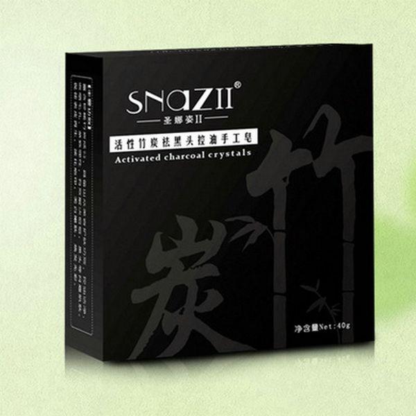 retail 3PCS Bamboo Charcoal Handmade Soap Skin Care Natural Skin Whitening Soap Blackhead Remover Acne Treatment Oil Control for men women