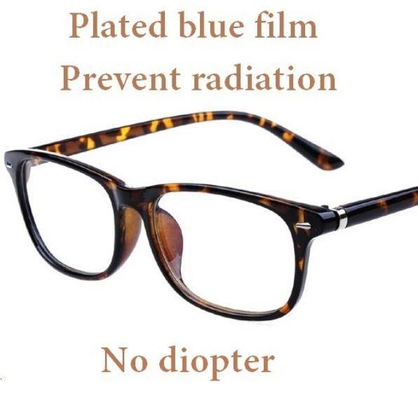 Wholesale- Women Leopard Print Glasses Clear Frame Ultra-Light Eyeglasses Frame Decorate Eyes Frames Glasses Without Lens Student Fashion