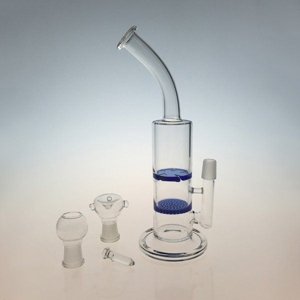 blue bong with bowl+dome+nail