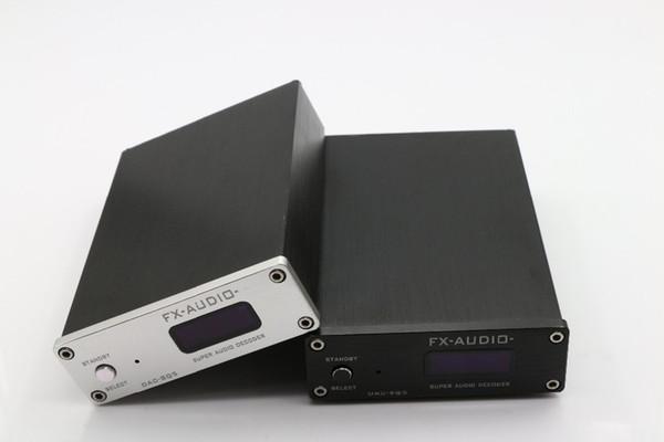 Freeshipping FX-Audio DAC-SQ5 HiFi 2.0 Digital Audio Decoder Input USB/Coaxial/Optical PCM1794A+AK4113+VT1729USB DC12V/1A Remote Controller