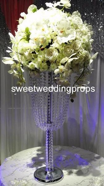 New hot sale decoration flower arrangement stands /acrylic metal wedding flower stands / flower stand for wedding