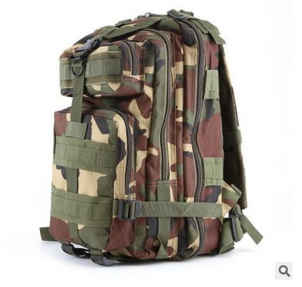 2017 Hot selling big Canvas 3P Tactical Attack Designer Backpack duffel bags shoulder bags sport bag for women and men free shipping