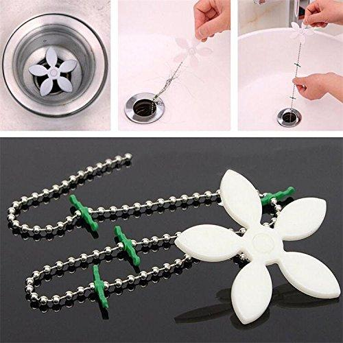 Bathroom Hair Sewer Filter Drain Outlet Kitchen Sink Filter Strainer Drain Cleaners Anti Clogging Floor Wig Removal Clog Tool