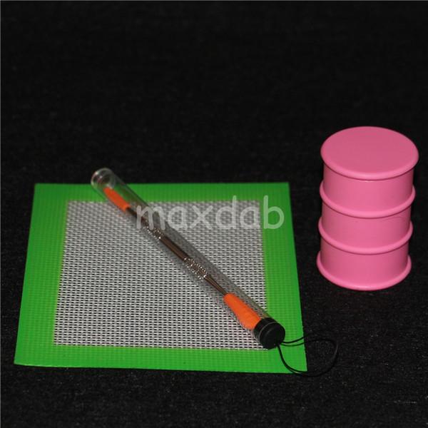 dab Jars Silicone Container wax silicon Box case For Atomizer Vaporizer E Cigarette Oil Box Reusable Silicone Wax Box Wax Containers