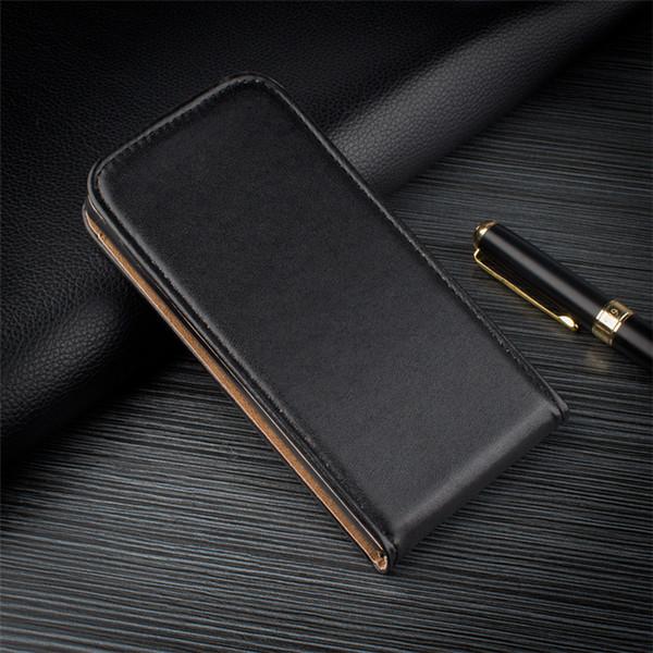 Luxe Magnétique Flip PU Couverture de Téléphone Intelligent Vertical Portefeuille En Cuir Cas Mobile Pour Sony xperia z1