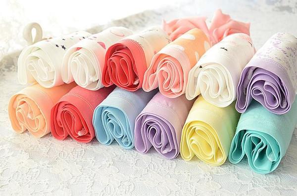 Mulheres calcinha cores misturadas 12 pçs / lote moda senhora calcinha meninas cuecas plus size mulher roupa interior