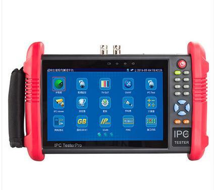 7 Inch 6 In 1 CCTV Tester Monitor IP Analog AHD CVI TVI SDI cameras tester 5MP 4MP 1080P wifi onvif PTZ control POE 12V output