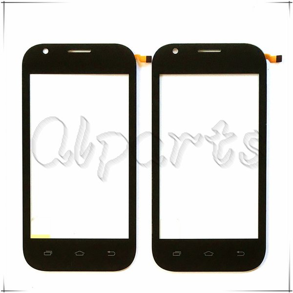 "Wholesale- 4.0 "" mobile phone touch screen digitizer panel For teXet X-start TM-4172 tm 4172 front glass sensor replacement Free Shipping"