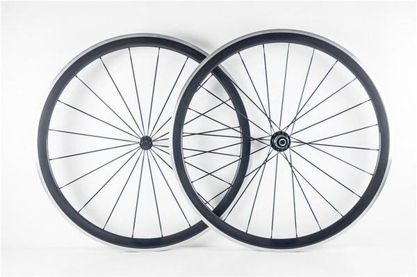 Factory sale cheap and Good quality 3K/UD/1K road bike 38mm carbon alloy wheels with 23mm Novatec A271 hubs free shipping