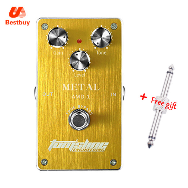 Aroma Tomsline Premium Effect Pedal AMD-1 Metal High Gain Pedal