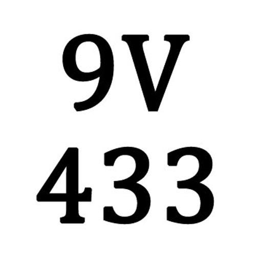 9V 433