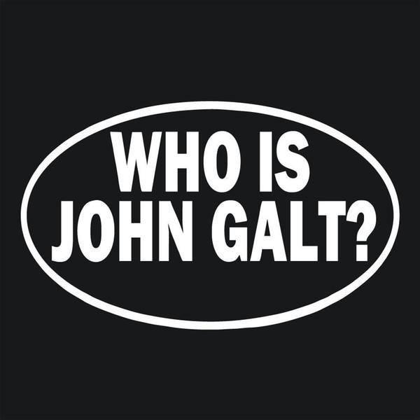 2019 Who Is John Galt Vinyl Decal Sticker Car Window Wall Bumper Laptop From Xymy777 1 31 Dhgate Com