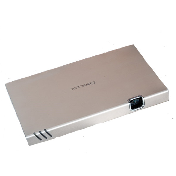 Wholesale-Coolux x6 android 4.4 Smart 1080P LED Pocket Pico Video DLP Projector HDMl Built-in Battery 15000Amh Display for Streaming Movie