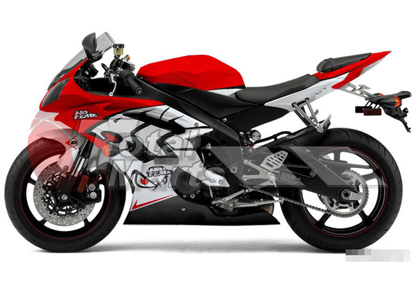 Fairings Yamaha YZF-R6 YZFR6 2008 2009 2010 2011 2012 2013 08-13 Injection Silver FD3687 RED FD3689 BLACK FD3682