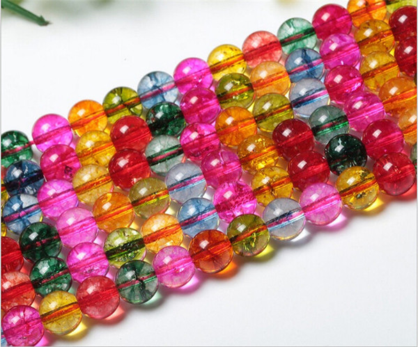2016 top quality 6A quality women Watermelon candy colored crystal stone beads diy women stone beads for making necklace