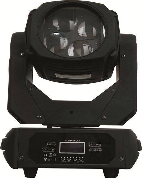 All'ingrosso-Nuovo arrivo 4 * 25W ad alta luminosità RGBW led moving head light LED super-beam teste mobili