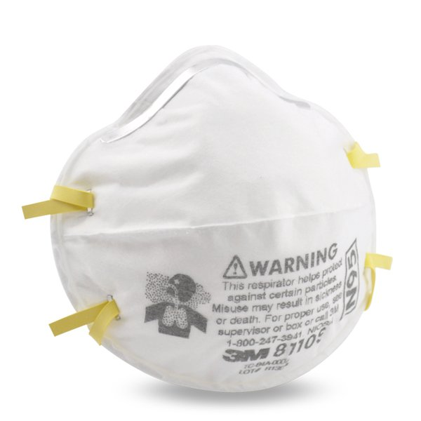 best selling Hot Sale 3M 8110S N95 Particulate Disposable Respirator Mask Box 20 AS NZS 1716 In Stock
