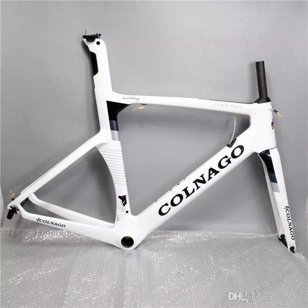 2018 hot can choice colnago concept road bike carbon frame full carbon fiber road bike frame 48/50/52/54/56cm T1000 carbon frameset CO1