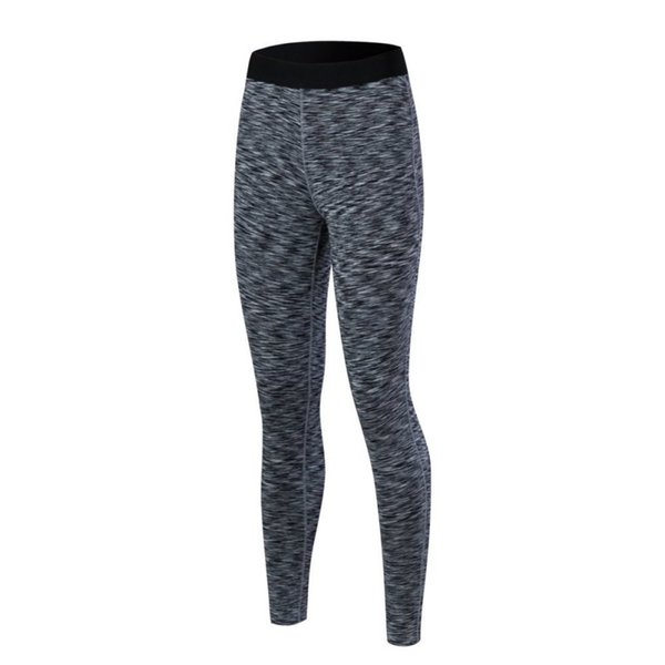 Großhandels-neuer Art-Kompressions-Frauen Stretchy Yoga-lange Hosen-feste Sport-Hosen-Basisschicht-Unterseite